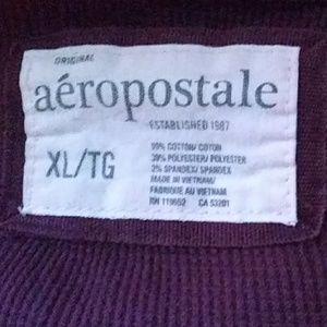 Aeropostale Tops - Aeropostale burgundy thermal long sleeved top